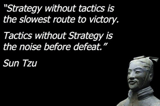 tactic vs strategy