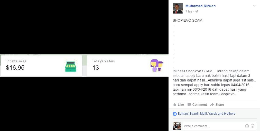 shopievo-scam